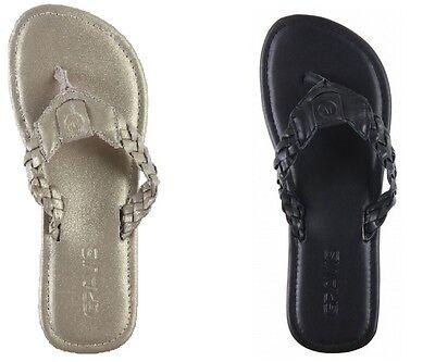 Gravis Athena Sandals Black or Gold Honey Flip Flops Women ~Retail $45.95~  Gravis Flip Flops