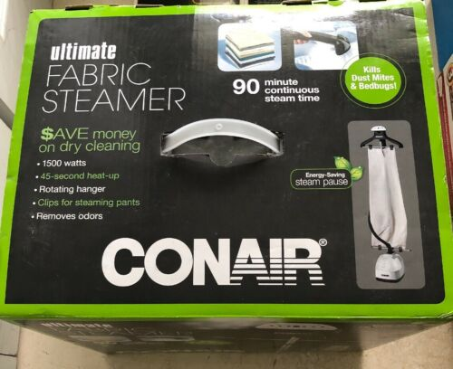 New In Box! Conair Floor Standing Fabric Steamer GS28