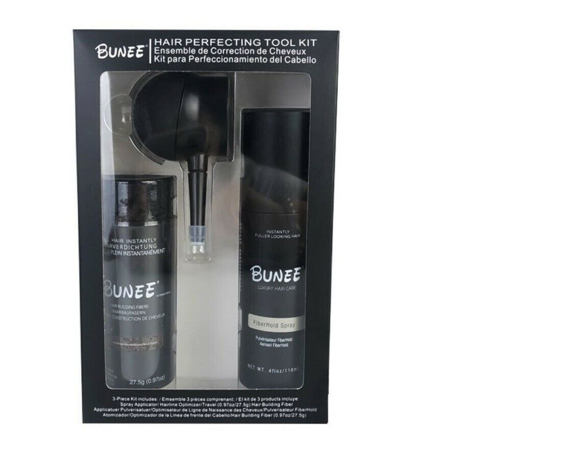 Bunee Hair Perfecting Tool Kit Spray Applicator Fiber Hairline Optimizer Hair Care & Styling