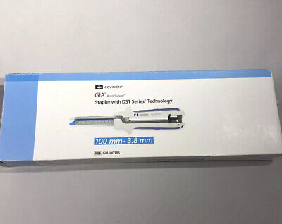 Covidien Gia Auto Suture Stapler Dst Series 80mmx3.8mm Gia8038s In Date