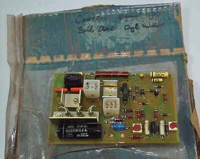 Lincoln Sub-arc Welder Control Circuit Board Model