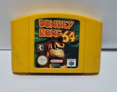 Donkey Kong 64 - Nintendo 64 / N64 - AUS PAL - Cleaned & Tested