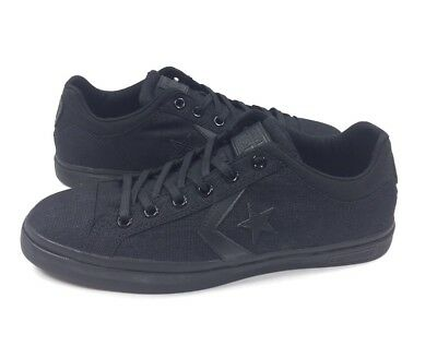 NEW Converse Cons Star Street Ox Mens Size 11 Low Shoes Sneakers Black 146645C