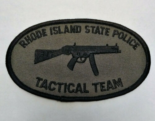 Rhode Island Police Tactical Team Patch // FREE SHIPPING!