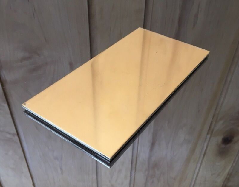 """1/8 BRASS SHEET PLATE NEW 4""""X8"""" .125 Thick *CUSTOM 1/8 SIZES AVAILABLE*"""