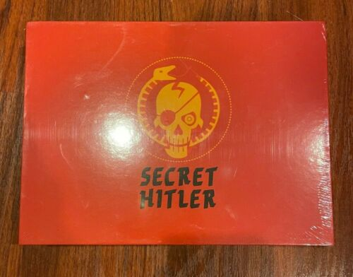 SECRET HITLER Social Deduction Party Board Game 5 -10 players. NEW SEALED