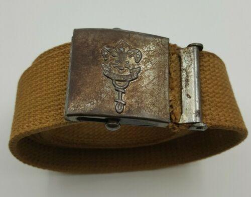 Antique Sigmund Eisner Boy Scouts Uniform Belt Buckle Pat 1912  1913 Red Bank