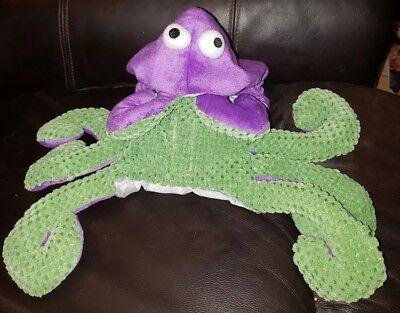 Spot On Dog Plush Purple Octopus/Sea Monster  Halloween Costume Size S