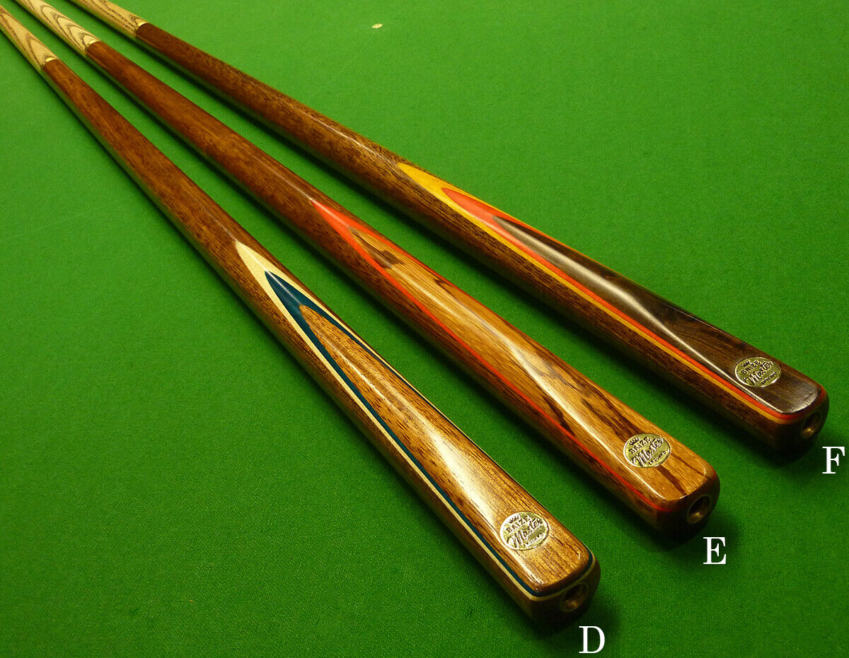 2pc Baize Master Junior Snooker Cue / Pool Cue - Length 52  D-F