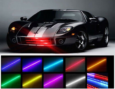 7 COLOR 48 LED RGB WATERPROOF KNIGHT RIDER LED LIGHT SCANNER - FLASH STROBE KIT