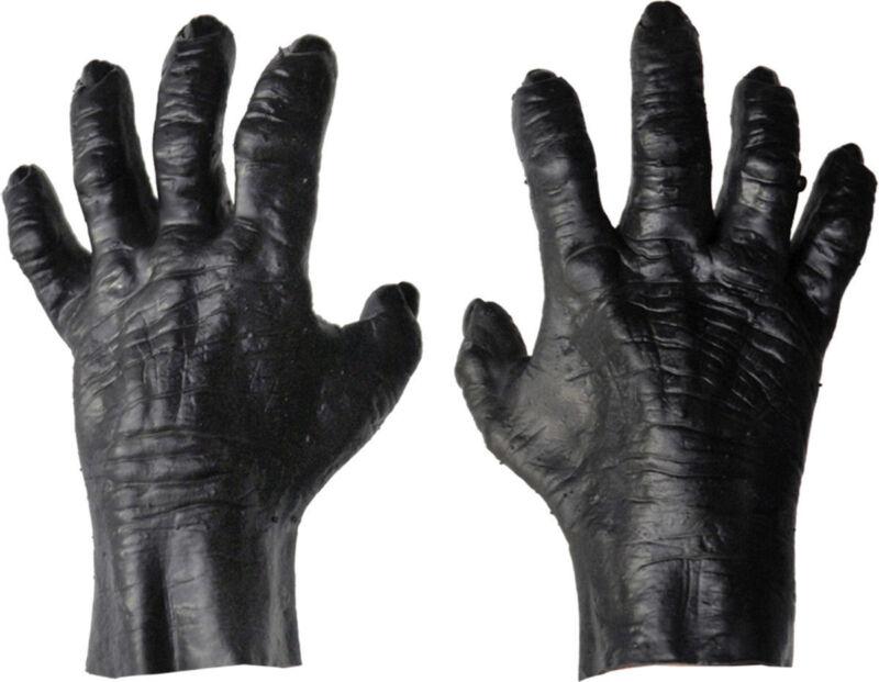 Morris Costumes Accessories & Makeup Hands & Feet Black Gloves. DU969
