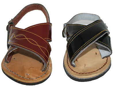 KIDS BABY TODDLER AUTHENTIC  TWO STRAP HUARACHE MEXICAN SANDALS , BEST PRICE