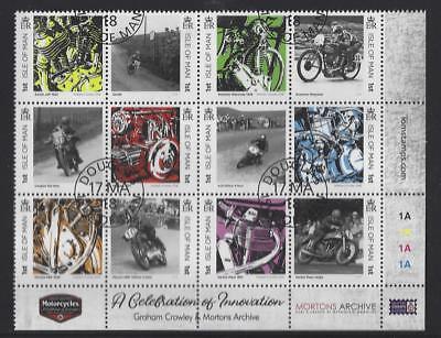 Isla de Man 2018 Motocicletas Fine Used Set de 12