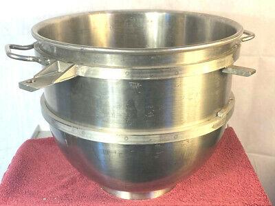 Hobart Legacy Bowl Hl-80 Stainless Steel Fits Hl800 Hl1400 Mixer Excellent