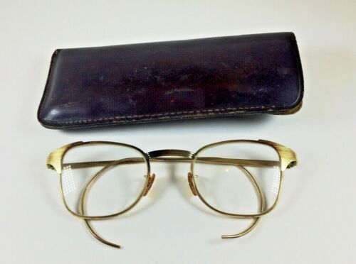 Vintage B&L Bausch Lomb 1/10 12k GF Gold Filled Eyeglasses Glasses ( 1.1 oz )