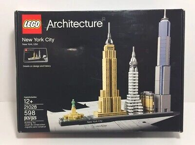 LEGO Architecture New York City 21028 Building Toy - Free Shipping