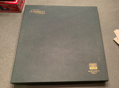 Vintage 1948 Selchow & Righter Deluxe Edition Scrabble game