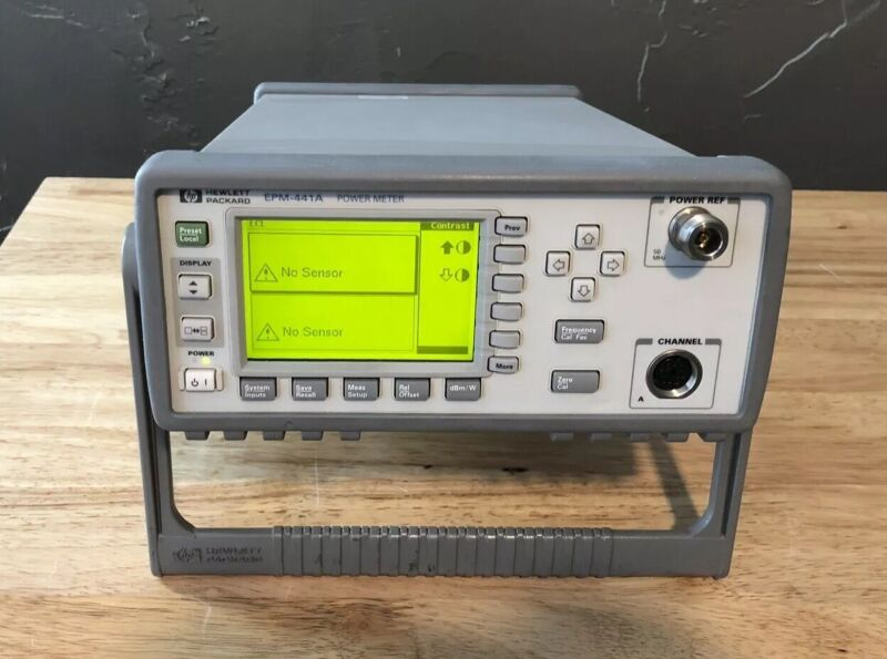 HP/Agilent/Keysight EPM-441A Digital Power Meter Recently Calibrated