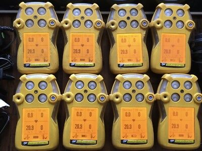 Gasalert Bw Quattro Gas Detector Monitor Calibrated With New Oxygen Sensor