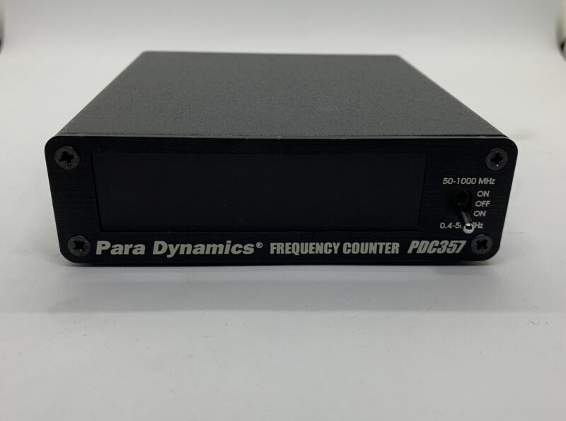Para Dynamics PDC 357 Frequency Counters