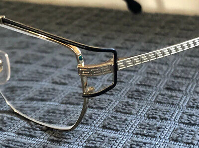 mens versace eye glasses