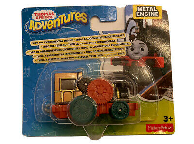 Thomas & Friends Adventures Theo Experimental Engine Fisher Price Metal NEW