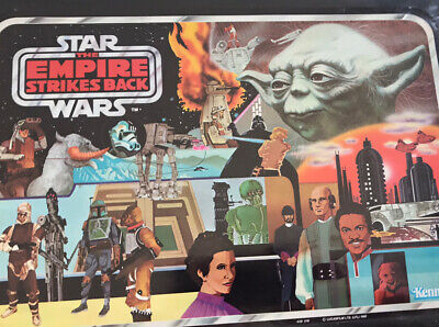 Vintage Star Wars ESB figure carry case - Kenner - 1980