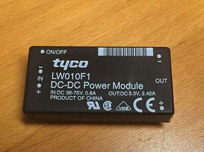 Tyco Lucent Lw010f1 Isolated Dcdc Converter 1pc 1 Lot