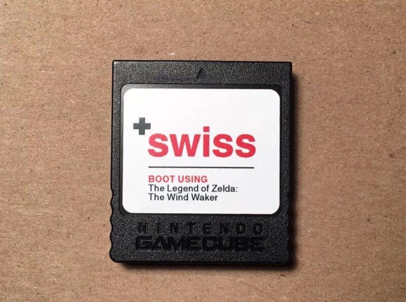 SWISS on a Hacked Nintendo GameCube Memory Card — Cheats, Backups, Homebrew