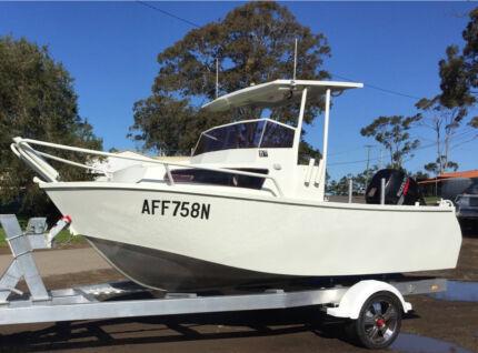 CUSTOM ALUMINIUM PLATE FISHING BOAT Edgeworth Lake Macquarie Area Preview