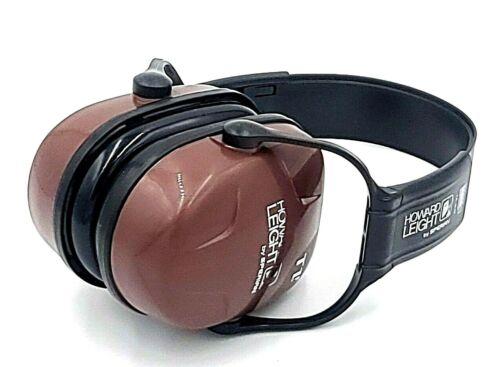 HOWARD LEIGHT By SPERIAN Earmuffs Noise Blocking Ear Protection EN352 Brown/Blk