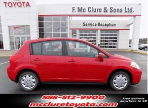 2009 Nissan Versa SV Winter tires included