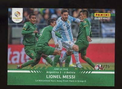 2016 Panini Instant Copa America Centenario #23 Lionel Messi 14/25