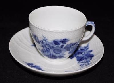Royal Copenhagen BLUE FLOWERS 1549 Cup & Saucer Set