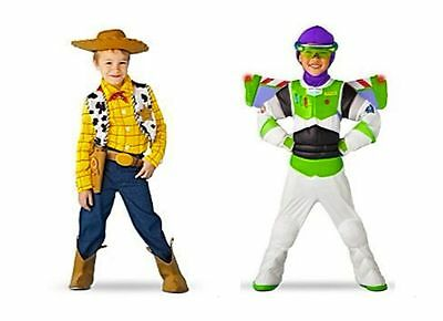Toy Story 3 Disney Halloween Cowboy Woody Buzz Lightyear Costume Light up Wings - Woody Halloween