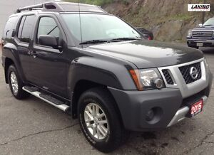 "2015 Nissan Xterra S 4WD """"OFF-ROAD DREAM"""" Clean Car Proof,Blue"
