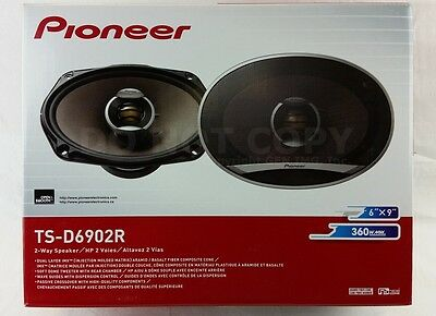 "Pioneer TS-D6902R 2-Way 6""x9"" D-Series Car Audio Speakers"