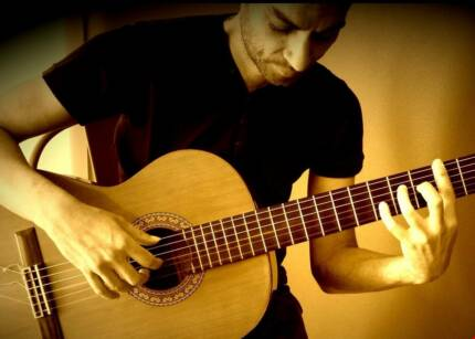 SPANISH GUITARIST FOR EVENTS Rozelle Leichhardt Area Preview