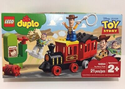 LEGO Duplo Disney Pixar Toy Story Train (10894) - Building Toy (21 Piece)