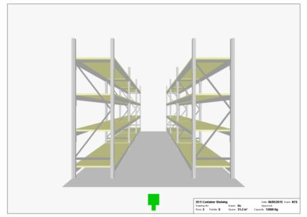 NEW - Sea Container Shelving - LONGSPAN