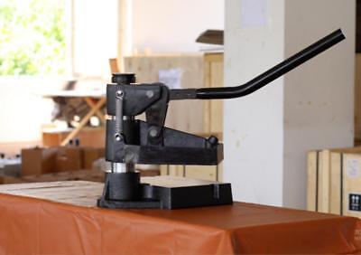 8360 Hand Pressure Sampling Machine Manual Leather Cutting Machine S