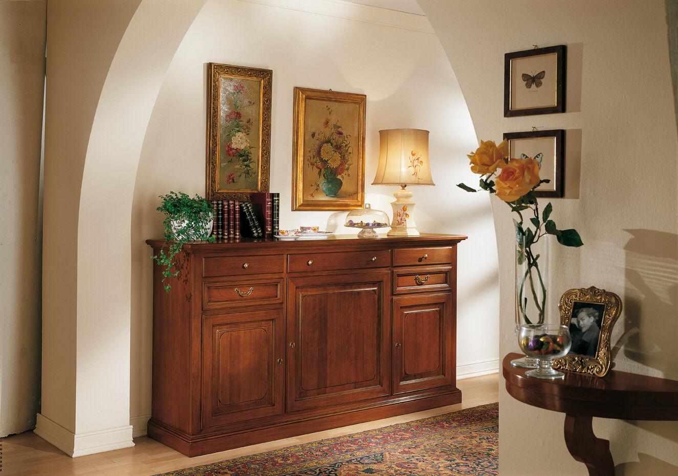 Credenza arte povera madia soggiorno cucina in vari colori for Credenze mercatone uno
