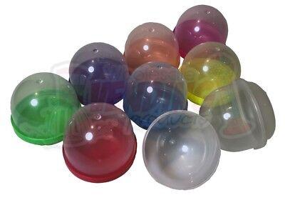 "100 - 2"" Empty Acorn Vending Capsules - *U Choose Color Tops* 8 Choices!"