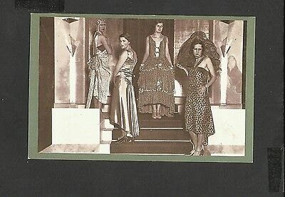 Nostalgia Postcard British Artificial Silk Exhibition Olympia London 1929