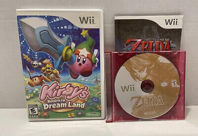 Kirby's Return to Dream Land And Zelda Twilight Princess