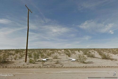 CALIFORNIA CITY BUILDING LOT CLOSE TO MAIN PAVED ROAD - KERN COUNTY