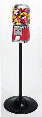 Barrel Bulk Vending Machine Single Stand - Green With Gumball Wheel