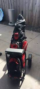 Bronson Left Handed Golf Clubs + Bag + Buggy Newport Hobsons Bay Area Preview