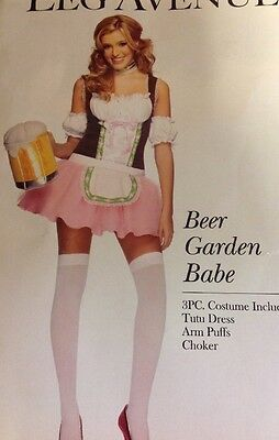 Beer Garden Babe Sexy German Girl Women's Costume