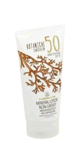 Australian Gold Botanical Sunscreen SPF 50 Mineral Lotion, 5